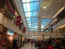 Inneres dlf Mall in Delhi stockfoto