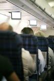 Inneres dunkles Flugzeug lizenzfreie stockbilder