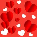 Inneres für Valentinsgrußtag lizenzfreie abbildung