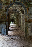 Inneres Fort Tarakanovskiy der Ruinen ukraine Lizenzfreies Stockfoto