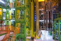 Inneres Gebäude in CERN Stockfotografie