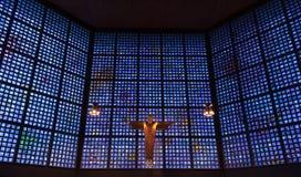 Inneres Gedachtniskirche in Berlin Stockbild