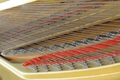 Inneres großartiges Klavier Stockbild
