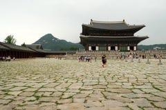 Inneres Gyeongbukgong-Quadrat lizenzfreie stockbilder