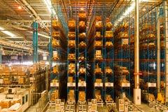 Inneres Ladungterminal Stockfoto