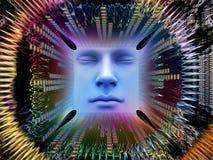 Inneres Leben des Supermenschen AI Lizenzfreies Stockfoto