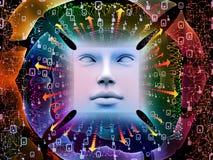 Inneres Leben des Supermenschen AI Lizenzfreies Stockbild