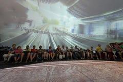 Inneres Malaysia Pavilon 03, AUSSTELLUNG Mailand 2015 Stockfotos