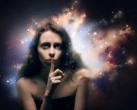 Inneres Universum Stockfotos