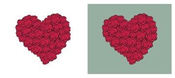 Inneres von den Rosen stock abbildung