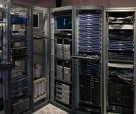 Inneres von Telekommunikationssystem Lizenzfreies Stockfoto