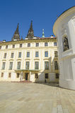 Inneres Yard des Schlosses in Prag, Tschechische Republik Lizenzfreies Stockfoto