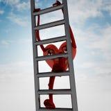 Innergesundheitsabbildung auf metallischer Leiter Lizenzfreie Stockfotos