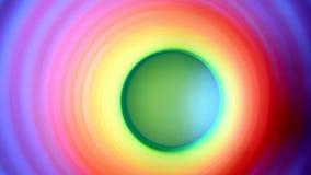 Innerhalb der beweglichen Seite des Mehrfarbenfrühlinges zur Seite innerhalb des Rahmens stock video