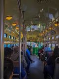 Innerhalb der f-Tram Lizenzfreie Stockfotografie