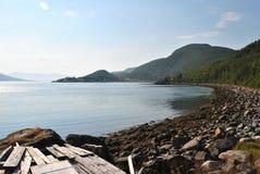 Innerhalb der Fjorde von Norwegen Stockbild