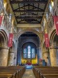 Innerhalb der Gemeindekirche in Chester Lizenzfreie Stockfotos
