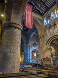 Innerhalb der Gemeindekirche in Chester Stockbilder