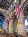 Innerhalb der Gemeindekirche in Chester Stockfotografie