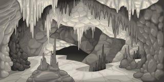 Innerhalb der Höhle. vektor abbildung