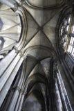 Innerhalb der Kathedrale Stockbild