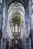 Innerhalb der Kathedrale Stockfotos