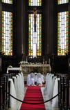 Innerhalb der Kathedrale des Heiliger Geist Lizenzfreie Stockbilder
