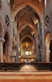 Innerhalb der Kathedrale von Modena Lizenzfreie Stockfotos