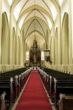 Innerhalb der Kirche lizenzfreies stockbild