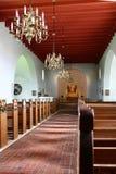 Innerhalb der Kirche Lizenzfreies Stockfoto
