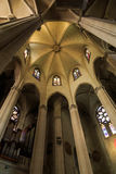 Innerhalb der Kirche Stockbild