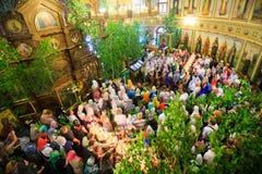 Innerhalb der Kirche der Dreiheit Stockfotografie