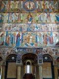 Innerhalb der Kirche von Johannes der Evangelist in Rostow das große Lizenzfreies Stockbild