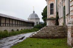 Innerhalb der Klosterwände lizenzfreie stockfotografie
