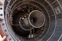 Innerhalb der Rakete des Titanen 11 ICBM Lizenzfreies Stockfoto