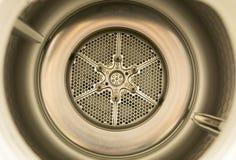 Innerhalb der Waschmaschine Stockbilder
