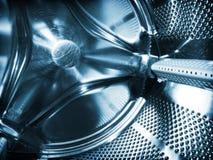 Innerhalb der Waschmaschine stockbild