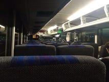 Innerhalb des Busses Stockfoto