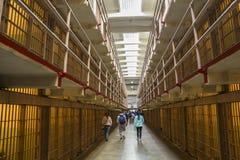Innerhalb des Gefängnisses von Alcatraz, San Francisco Lizenzfreies Stockbild