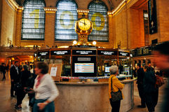 Innerhalb des Grand Central -Anschlusses in New York City Stockfoto
