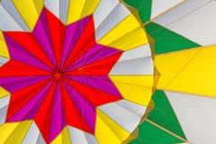 Innerhalb des Heißluftballons Lizenzfreie Stockfotos