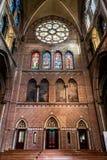 Innerhalb des Heiligen Catharine Church in Eindhoven Lizenzfreies Stockfoto