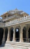Innerhalb des Jain Tempels von Ranakpur 2 Stockfotografie