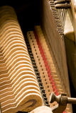 Innerhalb des Klaviers Stockbilder