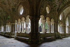 Innerhalb des Klosters Stockfotos