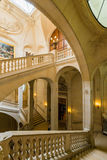 Innerhalb des Louvre-Museums Stockfotos