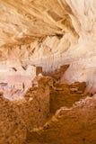 Innerhalb 17 des Raum-Ruinen-ererbten Pueblos Lizenzfreie Stockfotografie