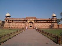 Innerhalb des roten Forts in Agra Stockbilder
