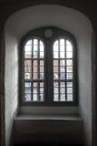 Innerhalb des runden Turms in Kopenhagen lizenzfreie stockbilder