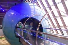 Innerhalb des Wissenschaftsmuseums stockbild